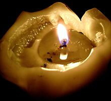 Gutted Candle by Jenebraska