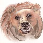 Da' Grizzly Bear by GLENDAakaEYE