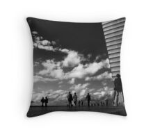 Couples and Singles Throw Pillow