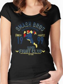 Port town Fighter Women's Fitted Scoop T-Shirt