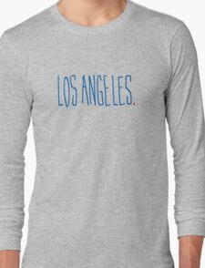 Los Angeles - City Scroll Long Sleeve T-Shirt