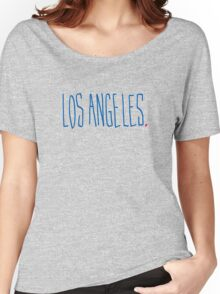 Los Angeles - City Scroll Women's Relaxed Fit T-Shirt