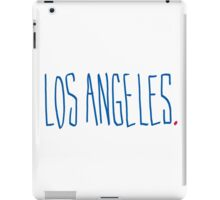 Los Angeles - City Scroll iPad Case/Skin
