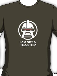 Cylon — I am not a toaster, Retro T-Shirt