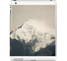 Pandim's peak in the Himalayas iPad Case/Skin