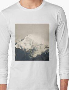 Pandim's peak in the Himalayas Long Sleeve T-Shirt