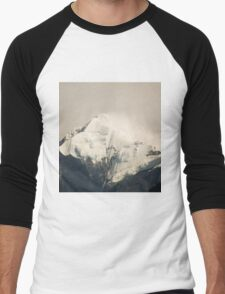 Pandim's peak in the Himalayas Men's Baseball ¾ T-Shirt