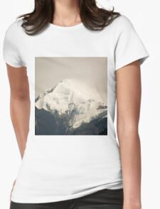 Pandim's peak in the Himalayas Womens Fitted T-Shirt