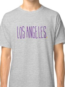 Los Angeles LAL - City Scroll Classic T-Shirt