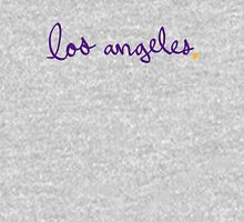 Los Angeles LAL Cursive - City Scroll Unisex T-Shirt