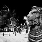 Central Nottingham in the snow. by nick pautrat