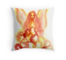 Sunny Faerie Throw Pillow