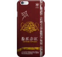 Crimson Typhoon Pit Crew Case iPhone Case/Skin