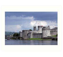Limerick Castle Art Print