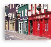 Irish Pubs Canvas Print