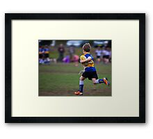 New Boots Framed Print