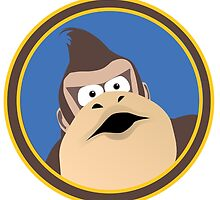 Donkey Kong Vector by chrispocetti