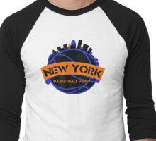 New York Basketball Association Men's Baseball ¾ T-Shirt