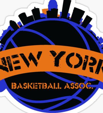New York Basketball Association Sticker