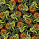 floral pattern by VioDeSign