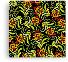 floral pattern Canvas Print