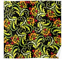 floral pattern Poster
