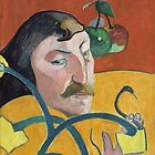 Self Portrait of Paul Gauguin by Vintage Works