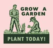 Grow A Garden - Plant Today! Kids Tee