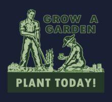 Grow A Garden - Plant Today! Kids Tee