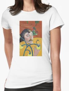 Self Portrait of Paul Gauguin Womens Fitted T-Shirt
