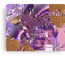 Fractal Bas-relief Canvas Print