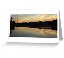 Reflection Symmetry Greeting Card