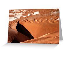 Dune aerial Greeting Card