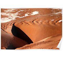 Dune aerial Poster