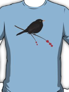 Cute Blackbird T-Shirt