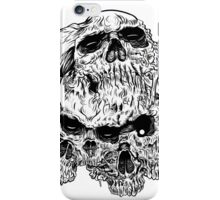 heartless skulls iPhone Case/Skin