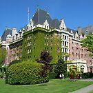 HOTEL : The Empress Hotel, Victoria BC by AnnDixon