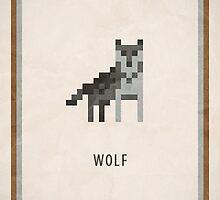 Pixel RPG - Wolf by Andrew Choo