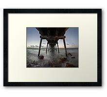 Port Hughes Jetty Framed Print