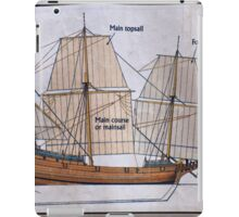 Duyfken Map iPad Case/Skin