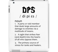 Definition of a DPS (black) iPad Case/Skin