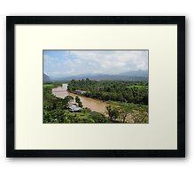 Nam Song River Framed Print