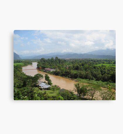 Nam Song River Canvas Print