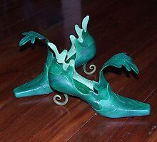 Rainforest shoe by Pendragon Shoes