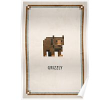 Pixel RPG - Grizzly Poster