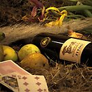 Wine, Food And Solitude by GlennRoger