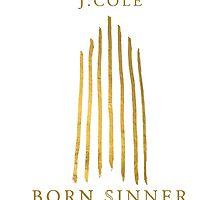 J.COLE - Born Sinner TSHIRT by tylergang