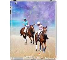Horse Polo Beach Galaxy iPad Case/Skin