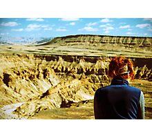 Silent Canyon Skies - Namibia Photographic Print