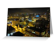 San Diego from the sky Greeting Card